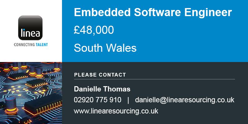 Embedded Software Engineer >> Embedded Software Engineer Job Vacancy Linea Resourcing